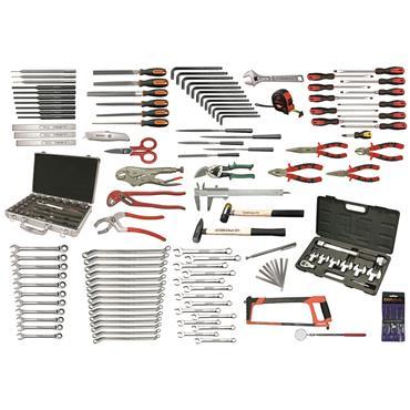 Ega Master Aviation Tool Set, 158 Pieces
