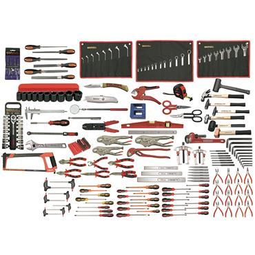 Ega Master Mechanics Tool Set, 215 Piece
