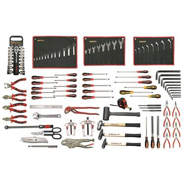 Ega Master Mechanics Tool Set, 109 Piece