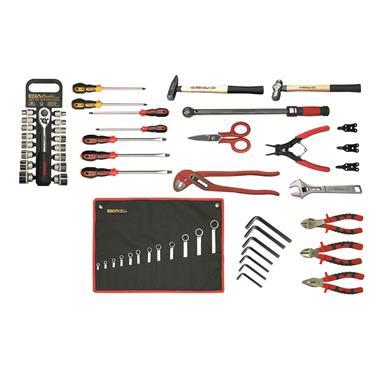 Ega Master Mechanics Tool Set, 53 Piece