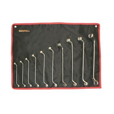 Ega Master Metric Double Offset Ring Wrench Set