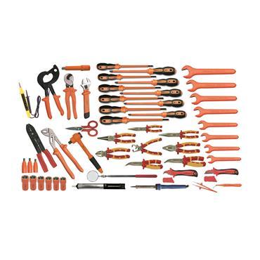 Ega Master Electricians Tool Set, 52 Piece