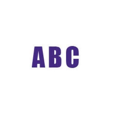 Durastripe X-Treme DS-NUM Letter, Purple