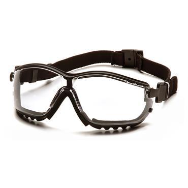 Pyramex V2G Safety Glasses, Clear Lens