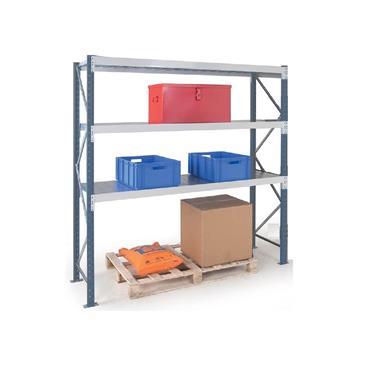 Epsivol Longspan/Widespan Shelving, 3 Shelf, 2500H x 800Dmm