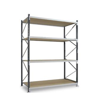 Epsivol Longspan/Widespan Shelving, 4 Shelf, 3000H x 600Dmm