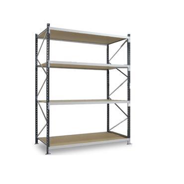 Epsivol Longspan/Widespan Shelving, 4 Shelf, 3000H x 800Dmm