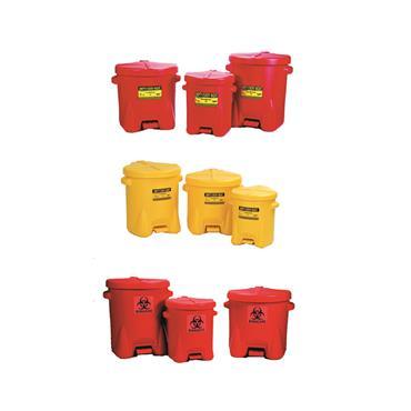 Eagle Polyethylene Oily Waste Cans