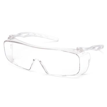 Pyramex CAPPTURE Anti-Fog Safety Glasses, Clear