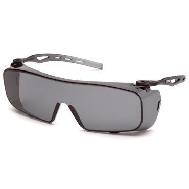 Pyramex CAPPTURE Anti-Fog Safety Glasses, Grey