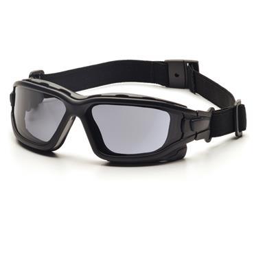 Pyramex I-Force Safety Glasses, Grey Dual H2X Anti-Fog Lens