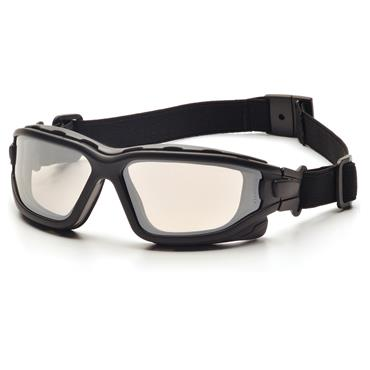 Pyramex I-Force Safety Glasses, I/O Dual H2X Anti-Fog Lens
