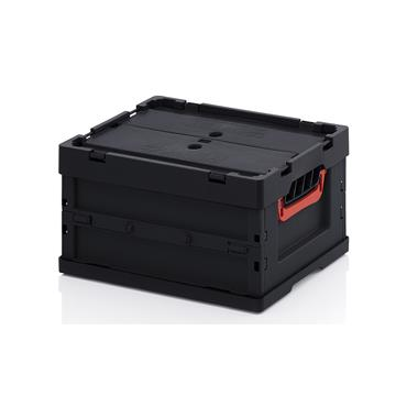 ESD Collapsible Containers with Lid