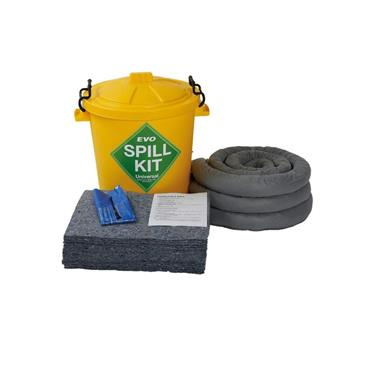 Fentex EVO Universal Absorbent Spill Kit in Plastic Drum