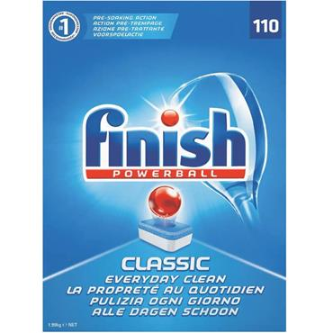 Finish Dishwasher Tablets Pk/110