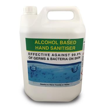 Alcohol Hand Sanitiser Gel 5L