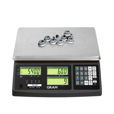 Gram RK Counting Scales