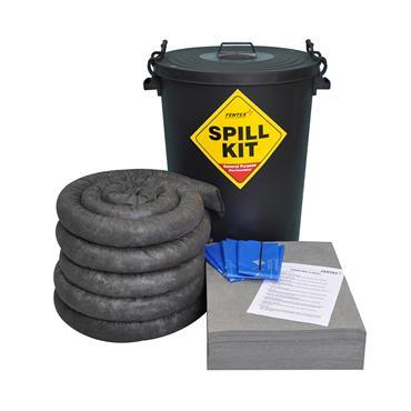 Spill Kit, Black ECO Drum 100L