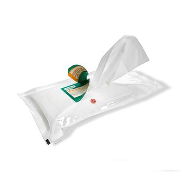 Hydroflex PurWipe Presaturated Cleanroom Wipes, Nonwoven
