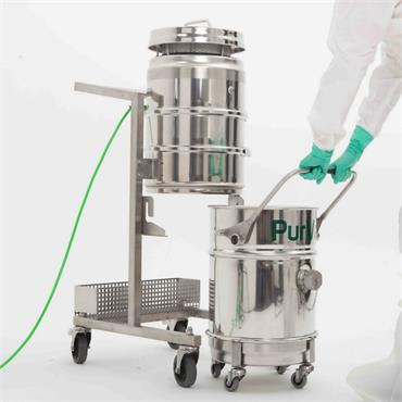Hydroflex PurVac A-series Wet and Dry  Cleanroom Vacuum Cleaner