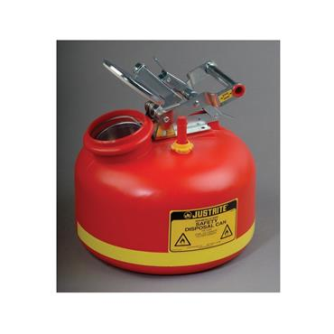 Justrite Liquid Disposal Safety Cans