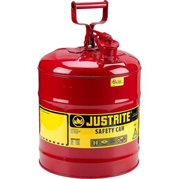 Justrite Type I Swinging Handle Safety Cans - Red