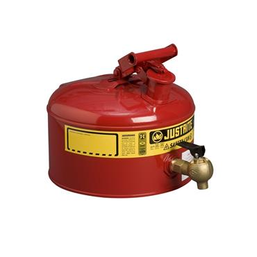 Justrite Safety Dispensing Cans - Red