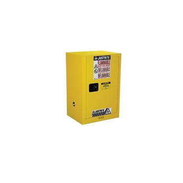Justrite Sure-Grip EX Compac Safety Cabinets - Yellow