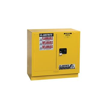 Justrite Sure-Grip EX Undercounter Safety Cabinets - Yellow