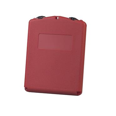 Justrite Document Storage Boxes - Red