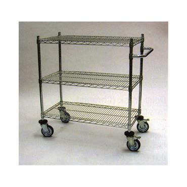 "US Type 3 Shelf Cart 39"" High"