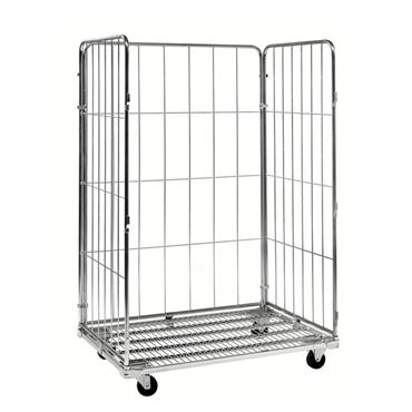 Kongamek Roll Container Trolley 3 Sides, 1200 x 800 x 1800mm