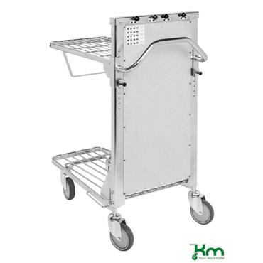 Kongamek, KM4202-F-ERGO Ergonomic Trolley w/ Adjustable Shelf