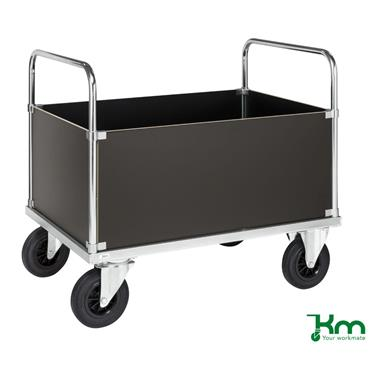 Kongamek, KM635 Box Truck/Trolley w/ High Panles