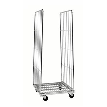 Kongamek Roll Container Trolley 2 Sides, 720 x 800 x 1800mm