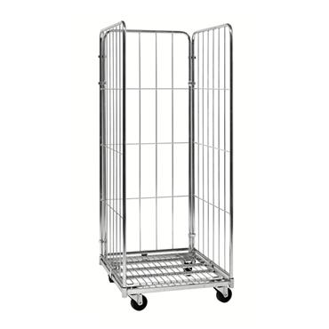 Kongamek Roll Container Trolley 3 Sides, 720 x 800 x 1800mm