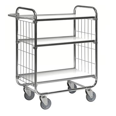 Kongamek ESD Flexible 3 Shelf Trolley, with Brakes