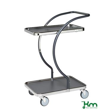 Kongamek, KM96200 C-Line Trolley, 2 shelves