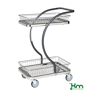 Kongamek, KM96202 C-Line Trolley, 2 Baskets