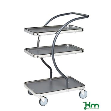 Kongamek, KM96300 C-Line Trolley, 3 shelves