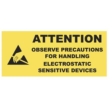 ESD Warning Labels