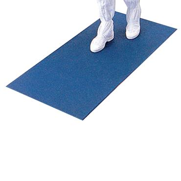 Blue & White Adhesive Entrance Tacky Mats