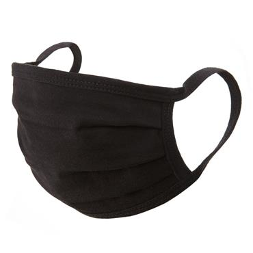 Reusable Black 2 Layer Cotton Mask