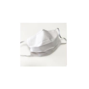 Reusable White 2 Layer Cotton Mask