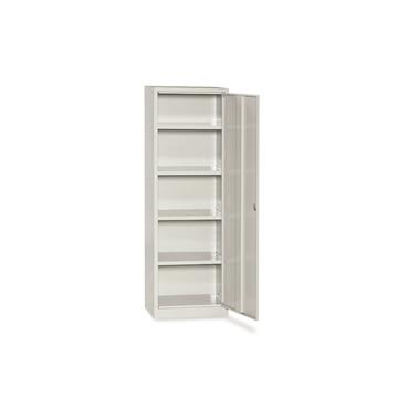 Cupboard / Closet with 1 Door , 4 Adjustable Shelves