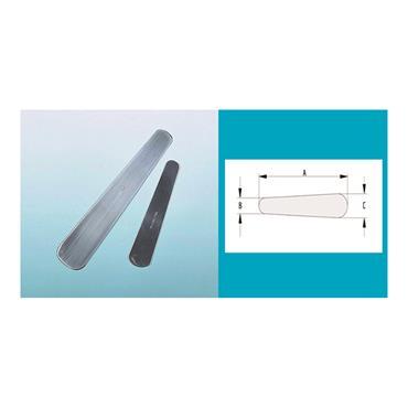 Metalware Range, Stainless Steel Flat Taper Blades