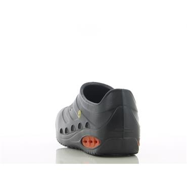 Oxypas Oxysafe SRC ESD Safety Clog, Black