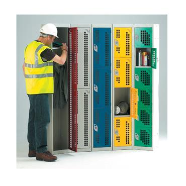 Perforated Door Lockers
