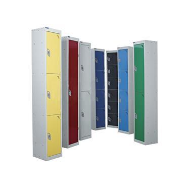 Standard Steel Lockers, Light Grey Doors