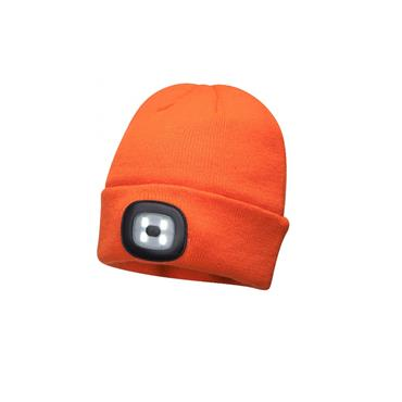 PORTWEST Beanie LED Head Light USB Rechargeable - B029